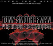 TONY SMOTHERMAN - VIRTUOSO TECHNIQUES: CD Rom