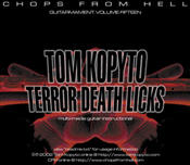 TOM KOPYTO - TERROR DEATH LICKS: CD Rom